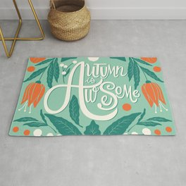 Autumn is awesome 001 Rug