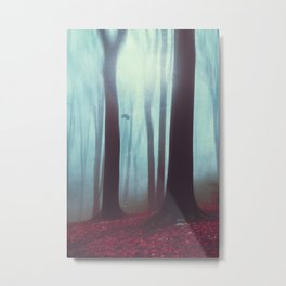 Between - Mystical Forest Metal Print