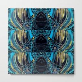 Majestic- Art Deco Pattern  Metal Print