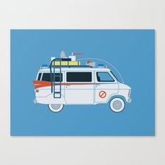 Ecto Van-1 Canvas Print