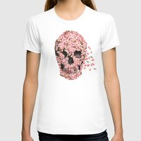 flowers T-shirts featuring A Beautiful Death  by Terry Fan