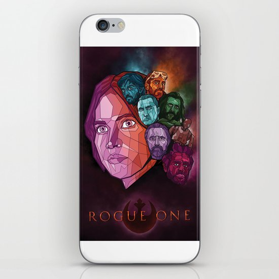 Rogue One Movie Poster iPhone Skin