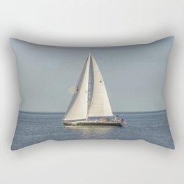 Smooth Sailing Rectangular Pillow