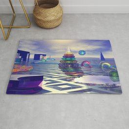 Glass Constructions 2 Rug