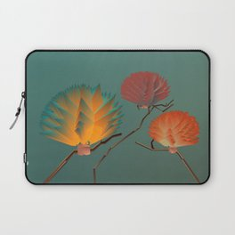 Origami Forest Birds  Laptop Sleeve