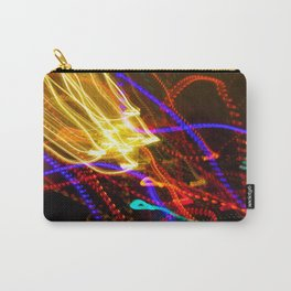 Painting with Christmas Lights - The Peace Collection Carry-All Pouch
