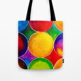Geometric Brights #2 Tote Bag