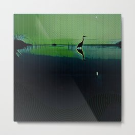 Marsh in Spring Metal Print