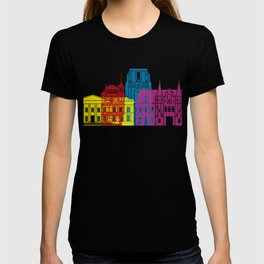 Leeuwarden skyline pop T-shirt