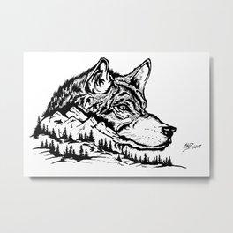 Mt. Lupus Metal Print
