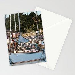 Alpena Marina sketch Stationery Cards