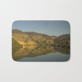 Douro valley Reflections Bath Mat