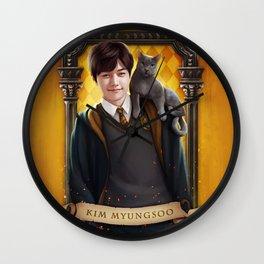 Hufflepuff MyungSoo Wall Clock