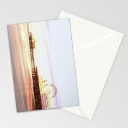 Santa Monica Pier Sunrise Stationery Cards