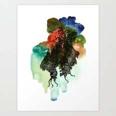 Move!! Move!! Art Print