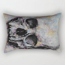Medieval Skull Rectangular Pillow
