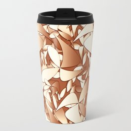 Pattern brown 156 Travel Mug