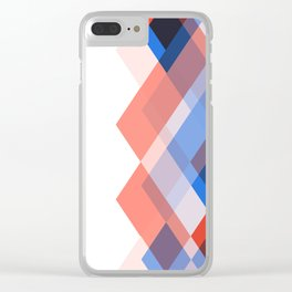 Lou Kirsten Diamond Series - Sapphire Clear iPhone Case