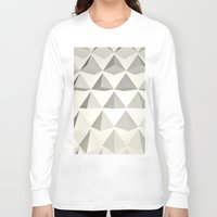 pyramid Long Sleeve T-shirts featuring Pyramid by Lauren Miller