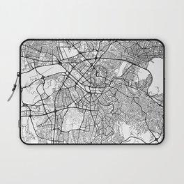 Ankara Map White Laptop Sleeve