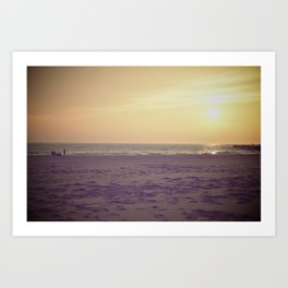 Lake Michigan. Art Print