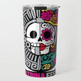 La Catrina Fest MX 2015 Travel Mug