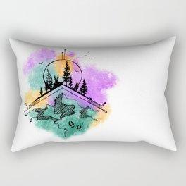 Go Wander Rectangular Pillow