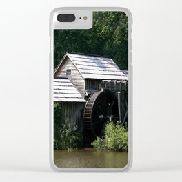 Mabry Mill Clear iPhone Case