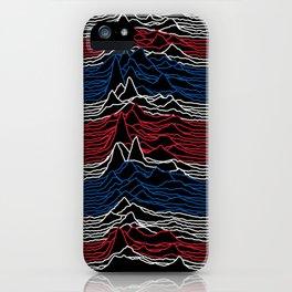 Joy Division - Unknown British Pleasures iPhone Case