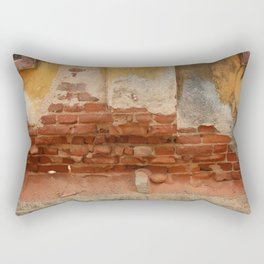 Broken old Wall Rectangular Pillow