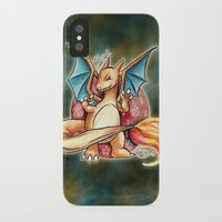 charizard iPhone & iPod Cases featuring 6 - charizard by Lyxy