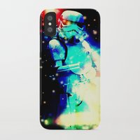 storm trooper iPhone & iPod Cases featuring STORM TROOPER by shannon's art space