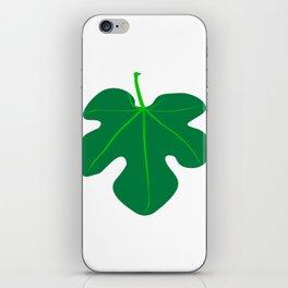 Fig Leaf iPhone Skin