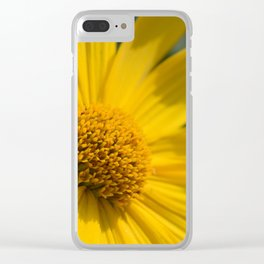 Summer yellow Clear iPhone Case