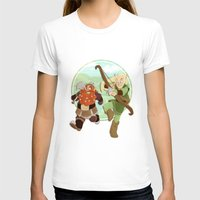 legolas T-shirts featuring LotR- Legolas & Gimli by Firehouselight