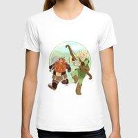 lotr T-shirts featuring LotR- Legolas & Gimli by Firehouselight