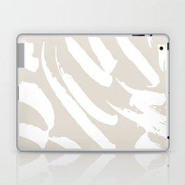Neutral Brush Strokes Laptop & iPad Skin