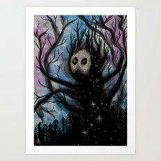 Astral Shambler Art Print