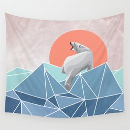 Polar Bear live in North Pole Wall Tapestry