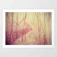 mystical. Art Print