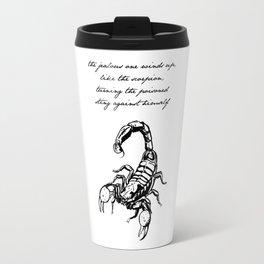 Friedrich Nietzsche, The Scorpion Travel Mug