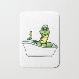 Bathtub snake Bath Mat