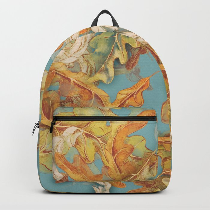 golden leaves of autumn Backpack