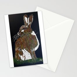 Hare Today Stationery Cards