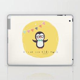 Pete Penguin Laptop & iPad Skin