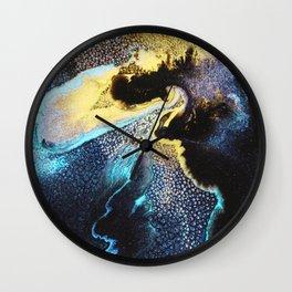 Abstract Univers Wall Clock