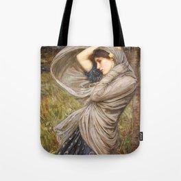 John William Waterhouse Boreas Tote Bag
