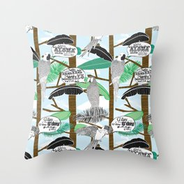 G'day Throw Pillow