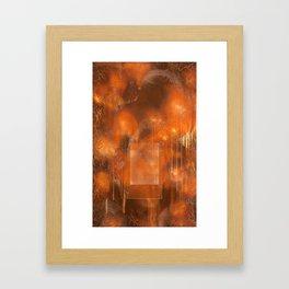 Everything Dies Alone Framed Art Print