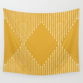 Geo / Yellow Wall Tapestry
